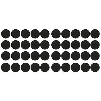 new 40pcs 32mm plastic round bases for miniatures sm47566