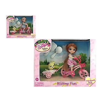 Doll with Pet Leisure Time 110722
