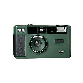 Retro uudelleenkäytettävä, kertakäyttöinen filmikamera