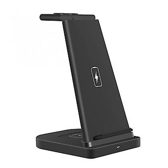 3 In 1 Fast Charging 15w Wireless Dock Station Stand