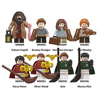 8pc Harry Potter serie bouwsteen poppen assembleren speelgoed