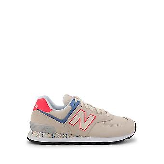 New Balance - Sapatos - Tênis - WL574CL2 - Mulheres - trigo,hotpink - EU 40