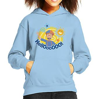 Blippi Hello Sun Kid's Hooded Sweatshirt