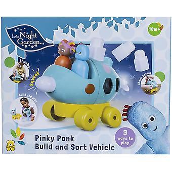 In the Night Garden Build and Sort Pinky Ponk Vehicle