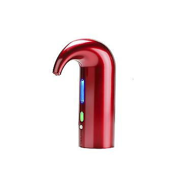 Electric Wine Aerator and Pourer(16.5x11.5x6cm)(Red)