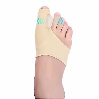 1pair Toe Corrector Orthotics Feet Care - Bone Thumb Adjuster