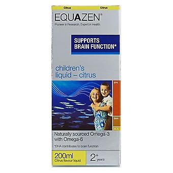 Equazen, Eye Q Liquid Citrus, 200ml