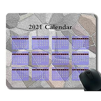 Keyboard mouse wrist rests 300x250x3 calendar for 2021 years gaming mouse pad custom abstract texture mouse pad with stitched