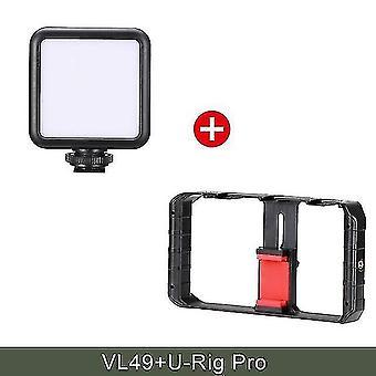 Camera accessory sets ulanzi u-rig pro smartphone video rig w 3 shoe mounts filmmaking case handheld phone video