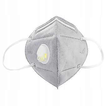 Kn95 Mask With Ce Breathing And Valve (10pcs)