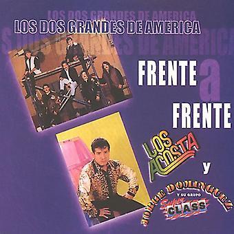 Los Acosta/Dominguez - Los Dos Grandes De America Frente en Frente [CD] USA import