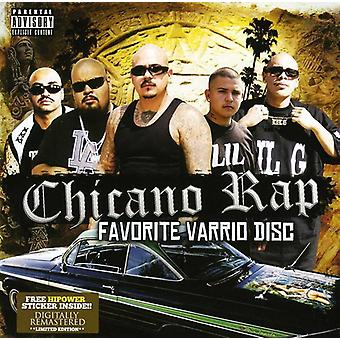 Hpg Presents - Chicano Rap Favorite Varrio Disc [CD] USA import