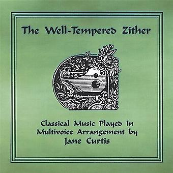Jane Curtis - The Well-Tempered Zither [CD] USA import