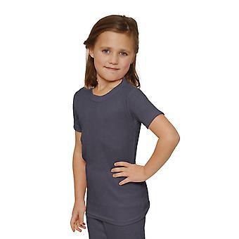 OCTAVE Girls termálne spodné prádlo tričko s krátkym rukávom/vesta/top
