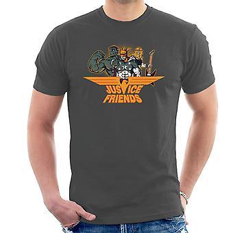 Dexters Laboratory Justitie vrienden T-Shirt voor mannen