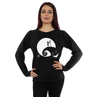 Disney kvinners Nightmare før jul månen Oogie Boogie Sweatshirt