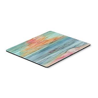 Carolines Treasures  8979MP Abstract Rainbow Mouse Pad, Hot Pad or Trivet