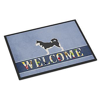 Siberian Husky Welcome Indoor or Outdoor Mat 24x36