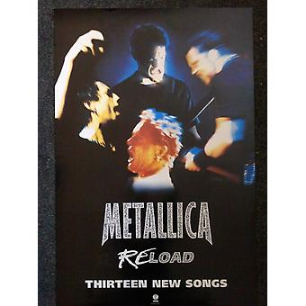 Metallica Reload Poster