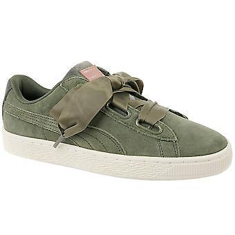 Puma Suede Heart Velvet Rope 365111-01 Womens sneakers
