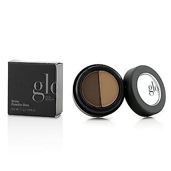 Glo hud skönhet Brow Powder Duo - # Brown - 1.1g/0.04oz