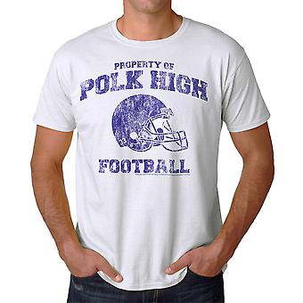 Married With Children Polk High Sports Men's White T-shirt NEW Sizes S-2XL