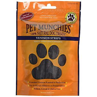 PET Munchies hund behandla hjortkött remsor, 75 g