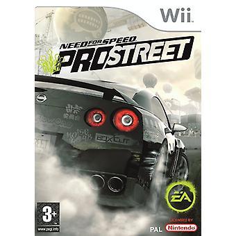 Need for Speed ProStreet (Wii)-nieuw