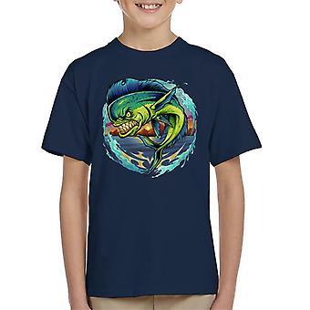 Boos Mahi Mahi vissen Kid's T-Shirt