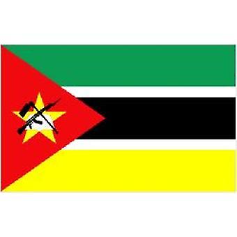Mosambikin lippu 5 jalkaa x 3 ft jossa ripustamista varten