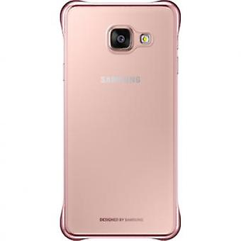 Couvercle transparent Samsung EF-QA310CZEGWW or rose pour Samsung Galaxy A3 2016