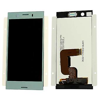 Sony display LCD complete unit for Xperia XZ1 dual G8342 Blau spare parts new