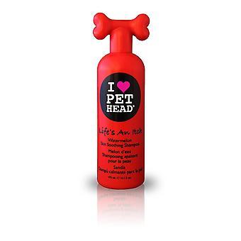 PET Head życie jest grzybica 475ml pies umyć szamponem