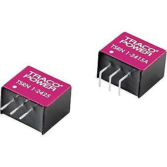 TracoPower TSRN 1-2415 DC/DC convertitore (stampa) 24 V DC 1.5 V DC 1 A No. uscite: 1 x
