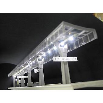Mayerhofer Modellbau 72063 Platform lighting White