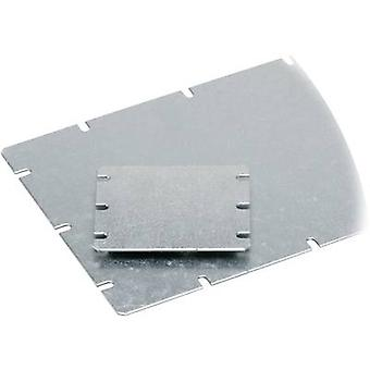 Fibox MIV 125 Asennuslevy (L x L) 98 mm x 98 mm Teräslevy Vaaleanharmaa 1 kpl