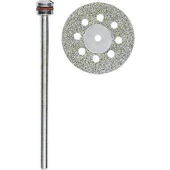 Proxxon Micromot 28 844 Diamond-coated cutting discs with cooling holes
