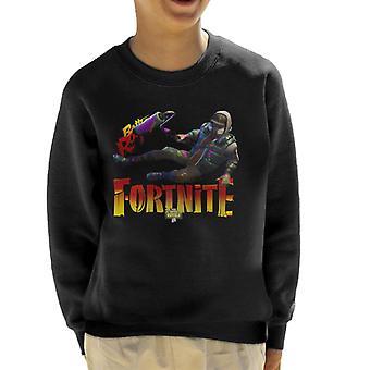 Fortnite maler huden barneklubb Sweatshirt