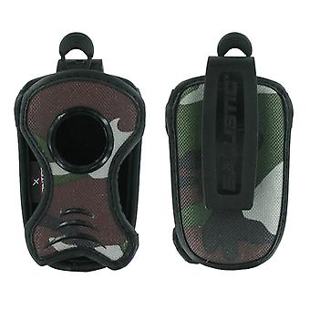 Ballistic - Universal Slim Fashion Rugged Pouch with Wrist Strap - Green Camouflage