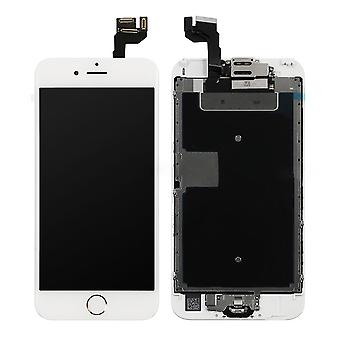 White LCD Screen With Gold Home Button For iPhone 6S