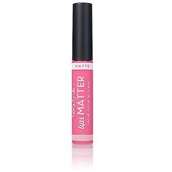 Beauty UK Lips Matter - No.6 Nudge Nudge Pink Pink 8g