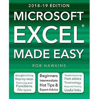 Microsoft Excel enkelt (2018-19 upplagan) av Microsoft Excel gjorde E