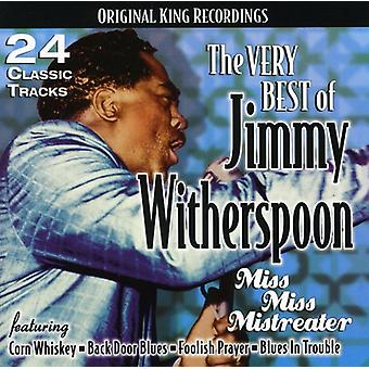 Jimmy Witherspoon - Very Best of Jimmy Witherspoon-Miss Miss Mistreate [CD] USA import