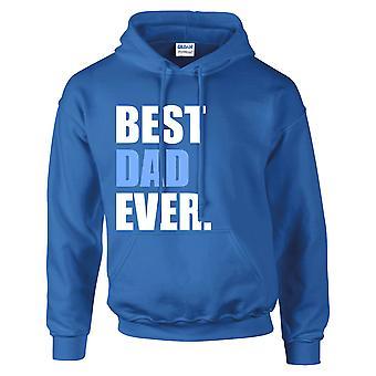 Bästa pappa någonsin Hoodie Royal Blue Hoody