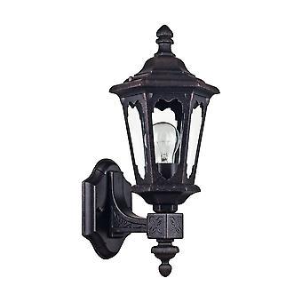 Maytoni Wandmodellen verlichting Oxford buiten zwart antieke Coach lantaarn
