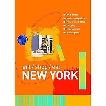 New York: Konst, butik, äta (konst/Shop/äta New York)