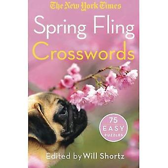 New York Times kevään Fling ristisanatehtäviä: 75 helppo palapelit