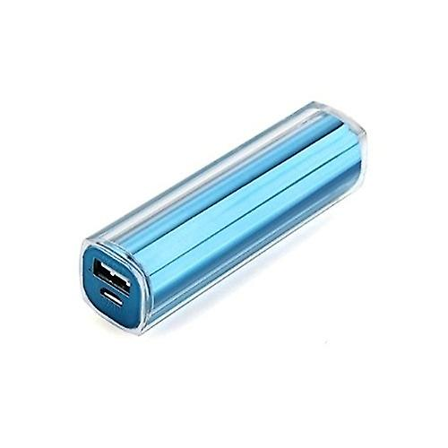 External Battery Charger 2600mAh Assistant for Mobile MP3 MP4 PSP Various Phones - Blue