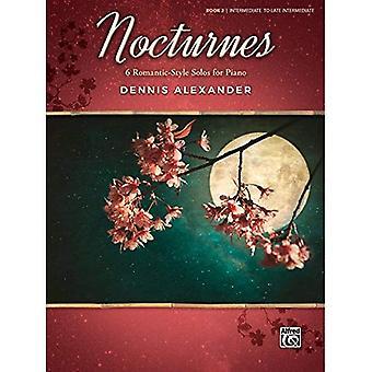 Nocturnes, Bk 2:6 romantisk stil solon för Piano