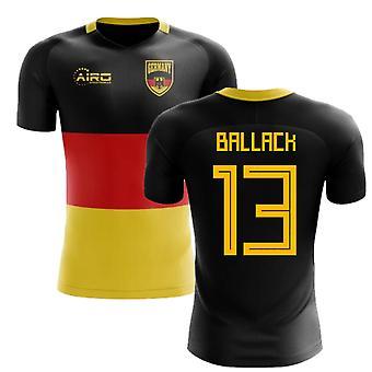 2018-2019 Deutschland Flagge Konzept Fußballtrikot (Ballack 13) - Kinder